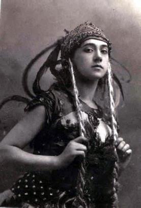Tamara Karsavina als Feuervogel