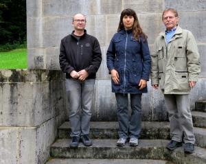Von links: Hans-Peter Gruber, Marion Guttman, Siegfried Bastl